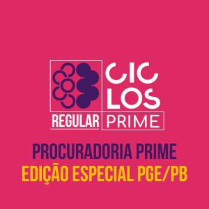 Prime - Edição Especial PGE/PB Com Atendimento