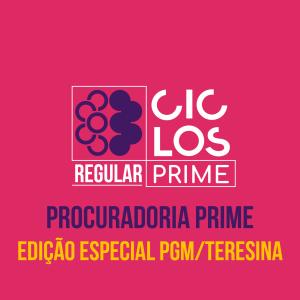 Prime - Edição Especial PGM/Teresina Com Atendimento